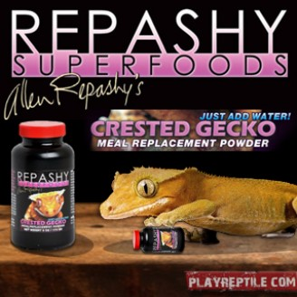 REPASHY CRESTED GECKO 340GR