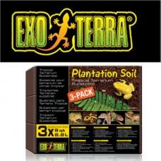 EXO TERRA PLANTATION SOIL BRICK 3-PACK